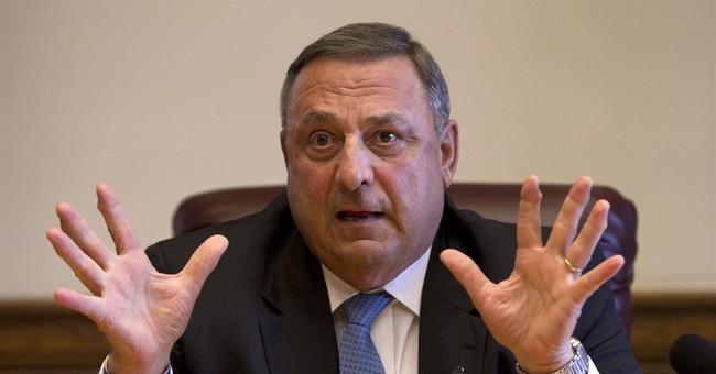 Maine Gov. LePage's tough talk could hurt 2014 bid