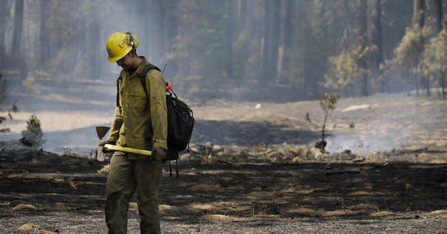 Calif. launches drone to aid wildfire battle