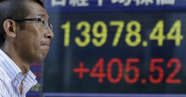 Asian stocks down as Syria worries persist