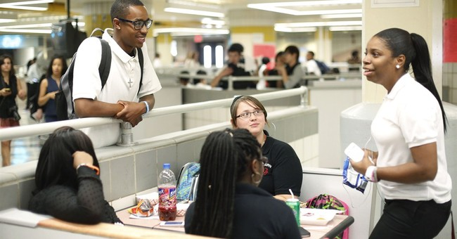 School's open in Philadelphia _ but just barely
