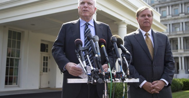 McCain, Graham blast Syrian chemical weapons deal