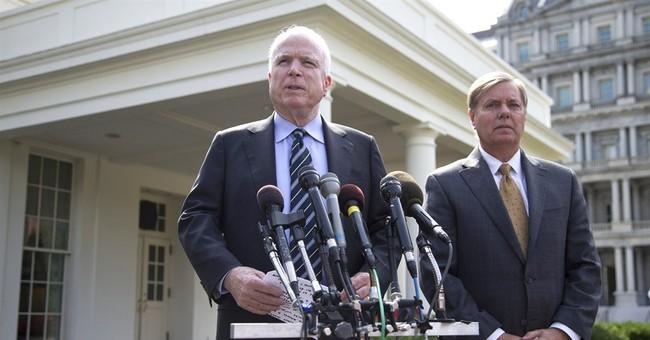 McCain, Graham blast Syrian chemical weapons deal