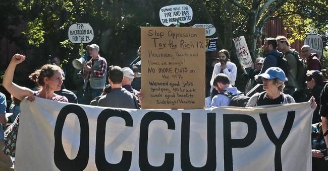 Occupy Wall Street activists mark 2nd anniversary