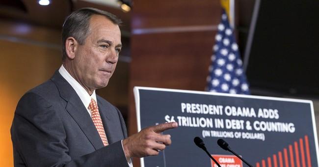 Boehner: Obama bargains with Putin, not Congress