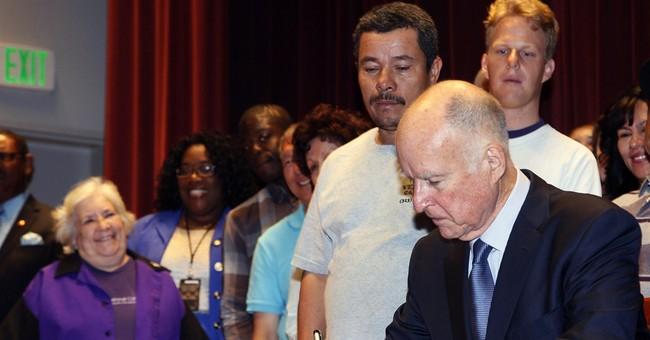 Governor signs bill hiking California minimum wage