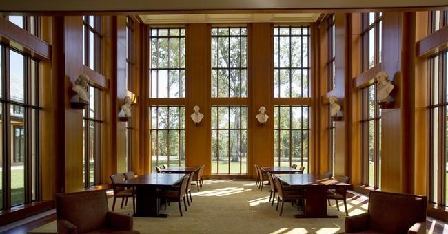 Mount Vernon opens library dedicated to Washington
