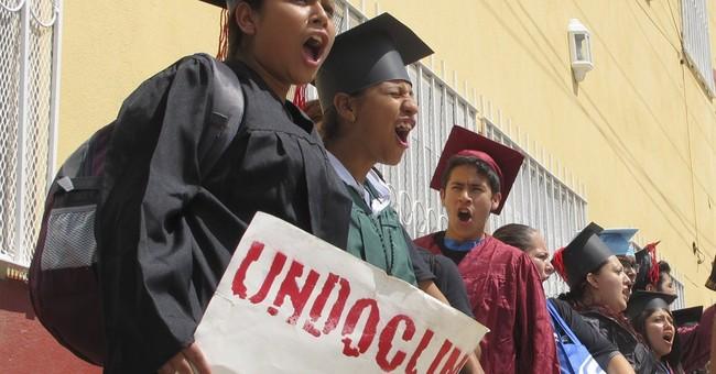 US-raised immigrants try to return across border