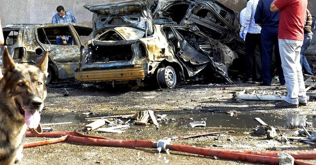 Car bomb strikes military compound in Egypt