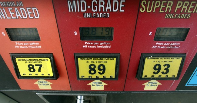 Pump prices at low since December 2011; oil gains