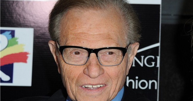 Larry King returns to the radio