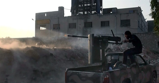 Syrian rebels launch counteroffensive in Aleppo
