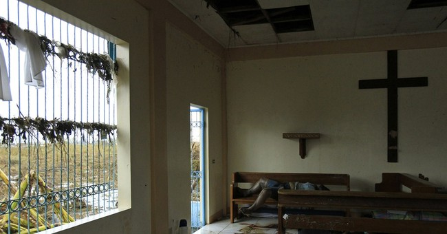In wrecked chapel, 10 bodies, and a father's pain