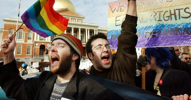 A decade after Mass. ruling, gay marriage gains