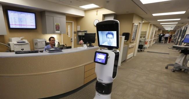 Robots let doctors 'beam' into remote hospitals