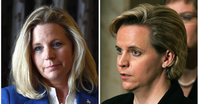 Cheney sisters spar on same-sex marriage