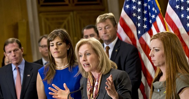Senate women unite in fighting sexual assault