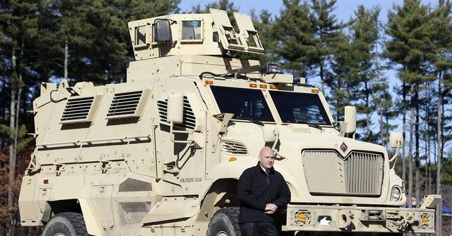 Spoils of war: Police getting leftover Iraq trucks