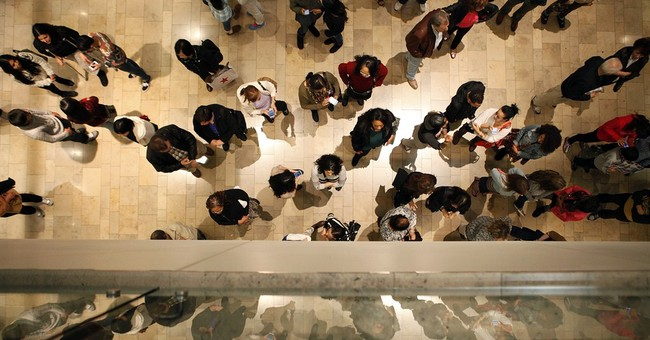 Record crowds over weekend, but spending declined