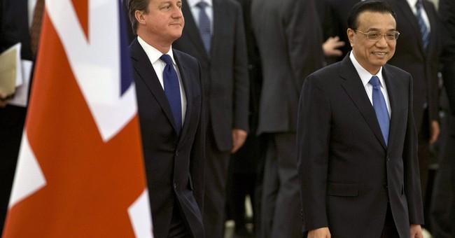 British PM Cameron visits China to promote trade