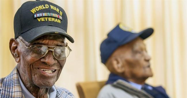 2 Texas veterans, both 107, meet for 1st time