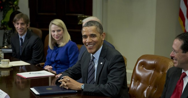 Obama meets with tech CEOs amid NSA concerns
