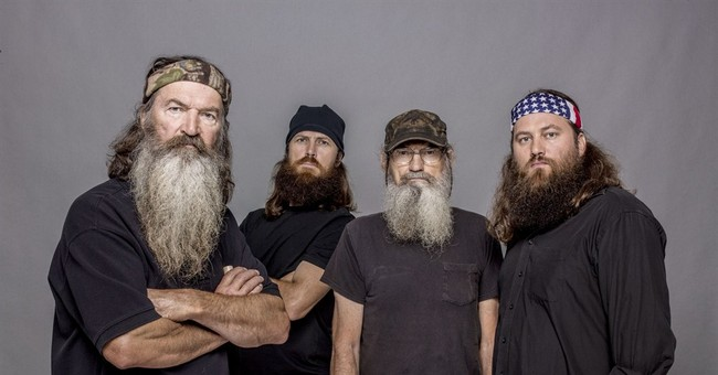Patriarch off 'Duck Dynasty' after gay comments