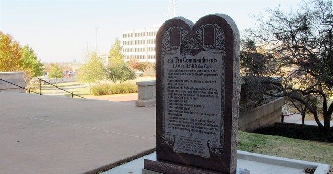 Okla. imposes moratorium on Capitol monuments