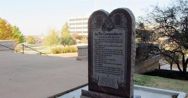 Okla. imposes moratorium on Capitol monuments