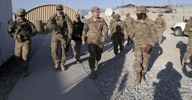 Commander visits US troops in Afghanistan