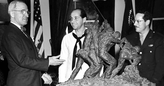 Original Iwo Jima monument coming to NYC auction