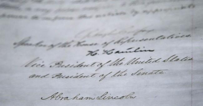 Emancipation Proclamation on display in Nashville