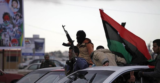 Libyan leader calls for unity on 2nd anniversary