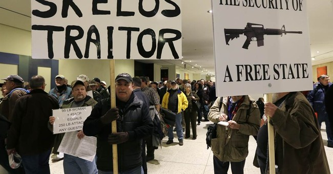 Opponents of NY gun law gathering in Albany