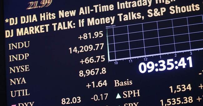 Dow hits record, erasing Great Recession losses
