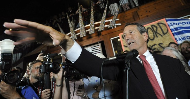 Comeback: Sanford Blows Out Democratic Opponent in Special Election