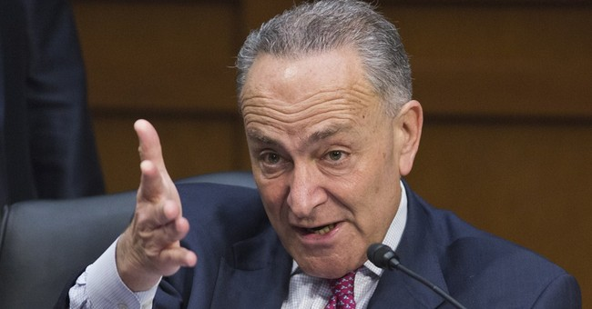 Schumer Worries IRS Can't Harass Tea Party Groups Anymore
