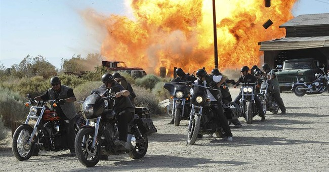 Slaughtered 'Sons Of Anarchy'