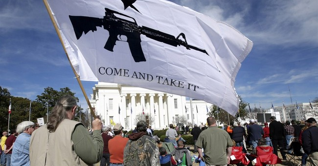 Gun Grabbers Outnumbered At Their Own Rally