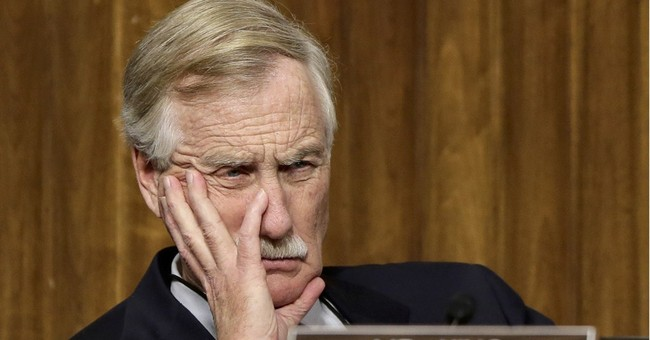 Sen. Angus King Considering Switch to the GOP