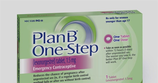 [UPDATED] Morning After Pill Touted by Liberals Doesn't Work for Women Over 176 Pounds