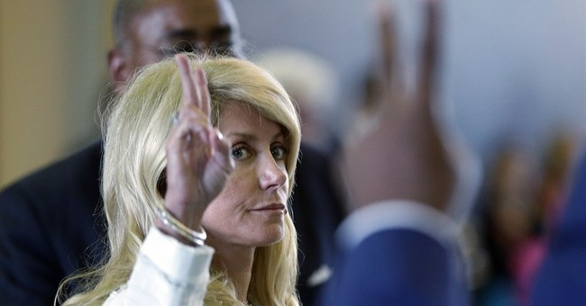 Wow: Wendy Davis Attack Ad Against Disabled Opponent Features Empty Wheelchair