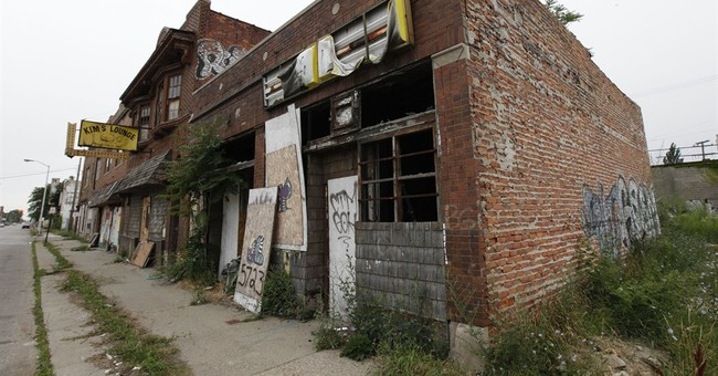 Conservatives Should Point and Laugh as Detroit Dies