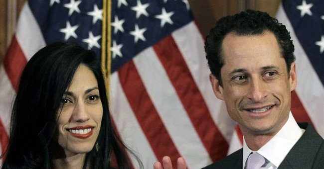 With Wife By His Side, Weiner Explains Latest Sexting Debacle