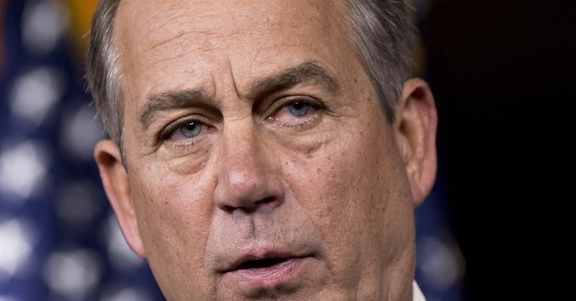 Lee Leads; Boehner Cowers