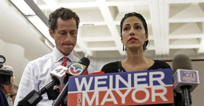 Sad Trombone: Anthony Weiner's Lead Implodes Following Sexting Scandal 2.0