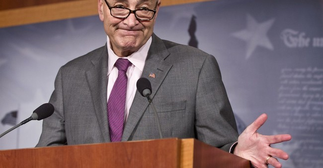 Schumer: I Won't Whip Opposition Votes On Iran Deal–And I'll Probably Succeed Harry Reid