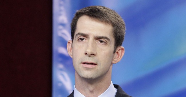 Nailed It: Tom Cotton's New Ad Introduces His Drill Sergeant