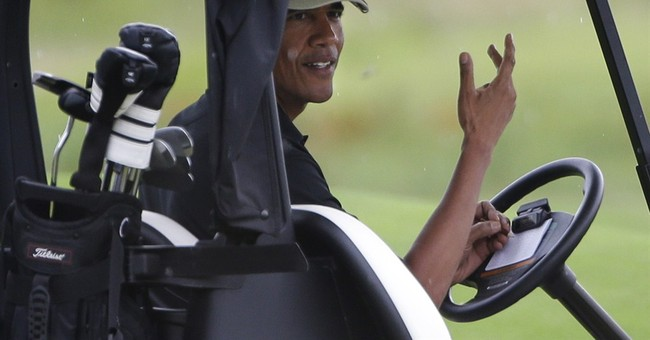 Obama's Foreign and Domestic Policy: When the Going Gets Tough, Go on Vacation