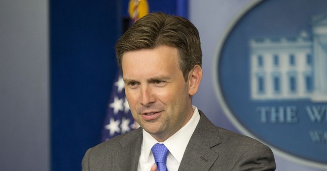 Josh Earnest Stumbles Through Another Press Conference