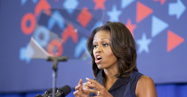 Michelle Obama Opposes Syria Strike